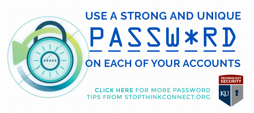 Use Strong and Unique Passwords on Each of Your Accounts